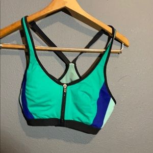 Double layered VSX sports bra